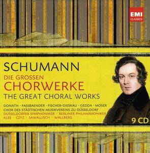VA - Schumann: Die großen Chorwerke / Great Choral Works (2010) (9 CD Box Set)