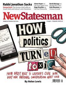 New Statesman - 31 August - 6 September 2018