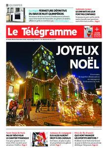 Le Télégramme Quimper – 24 décembre 2019