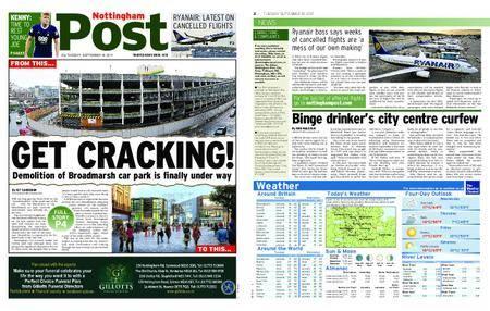 Nottingham Post – September 19, 2017