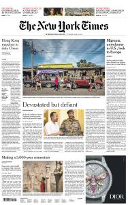 International New York Times - 11 June 2019