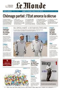 Le Monde du Mercredi 27 Mai 2020