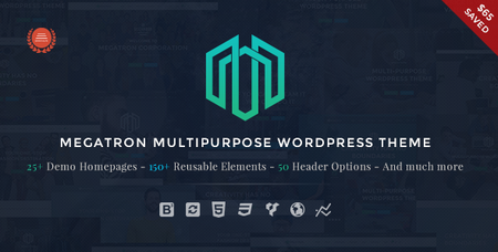 ThemeForest - Megatron v2.3 - Responsive MultiPurpose WordPress Theme