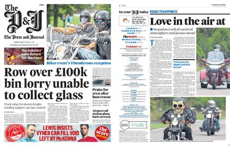 The Press and Journal Moray – August 26, 2019