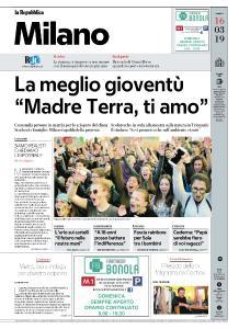 la Repubblica Milano - 16 Marzo 2019