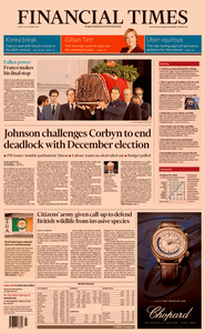 Financial Times UK – 25 October 2019