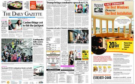 The Daily Gazette – September 20, 2017