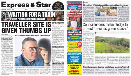 Express and Star City Edition – January 15, 2020