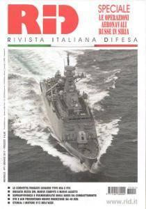 Rivista Italiana Difesa - Gennaio 2017