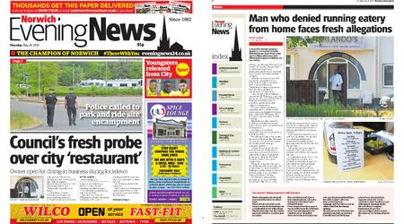 Norwich Evening News – May 28, 2020