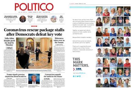 Politico – March 24, 2020