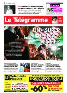 Le Télégramme Guingamp – 02 mars 2020