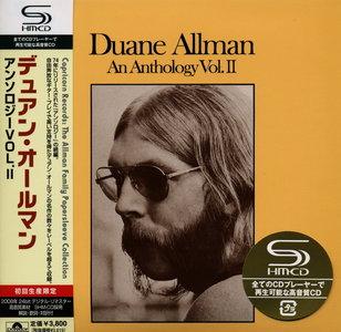 Duane Allman - An Anthology, Vol II (1974) [2CD] {2008 SHM-CD Japan Mini LP Edition}