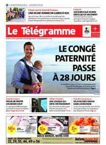 Le Télégramme Landerneau - Lesneven – 01 juillet 2021