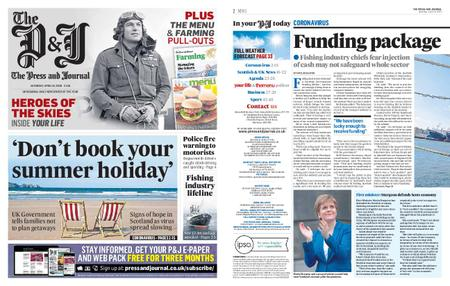 The Press and Journal Moray – April 18, 2020