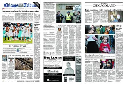 Chicago Tribune – October 15, 2018
