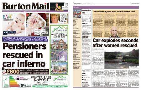 Burton Mail – November 28, 2018