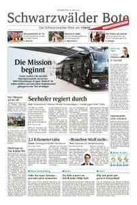 Schwarzwälder Bote Hechingen - 24. Mai 2018