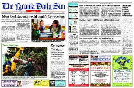 The Laconia Daily Sun – November 17, 2017