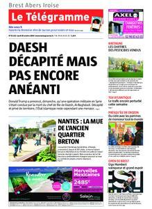 Le Télégramme Brest Abers Iroise – 28 octobre 2019