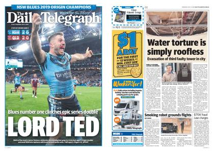 The Daily Telegraph (Sydney) – July 11, 2019