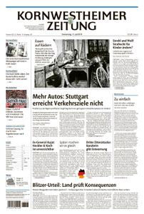 Kornwestheimer Zeitung - 11. Juli 2019