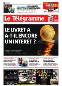 Le Télégramme Brest – 17 janvier 2020