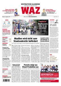 WAZ Westdeutsche Allgemeine Zeitung Oberhausen-Sterkrade - 24. September 2018