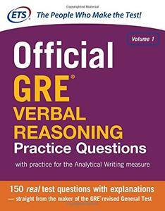 Official GRE Verbal Reasoning Practice Questions (Repost)