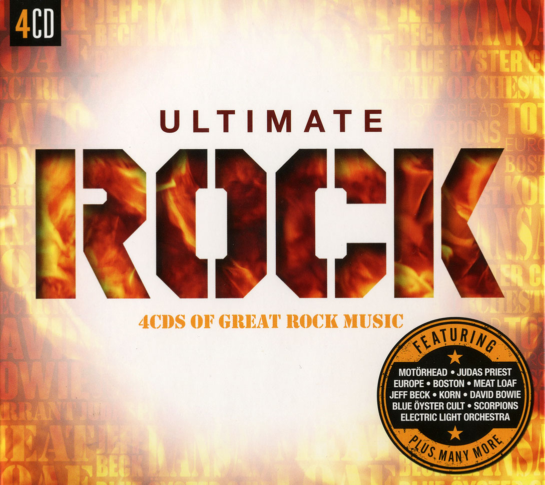 VA - Ultimate ROCK: 4CDs Of Great Rock Music (2015) [Re-Up]