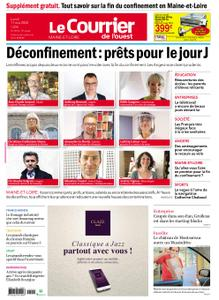 Le Courrier de l'Ouest Angers – 11 mai 2020