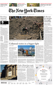 International New York Times - 28 August 2020