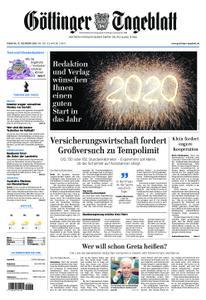 Göttinger Tageblatt – 31. Dezember 2019