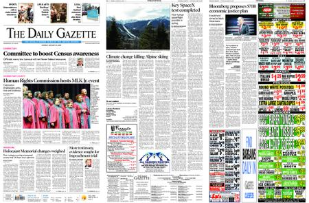 The Daily Gazette – January 20, 2020