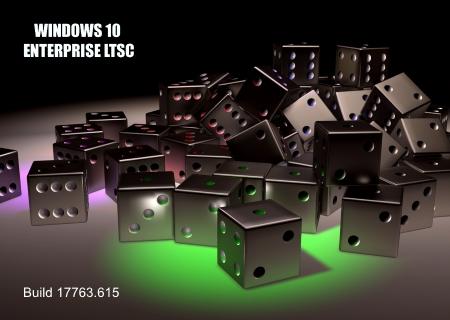 Windows 10 Enterprise LTSC 2019 version 1809 Build 17763 615