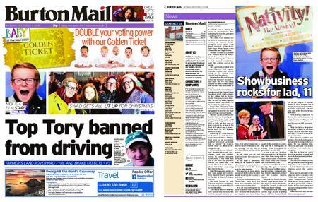 Burton Mail – December 03, 2018
