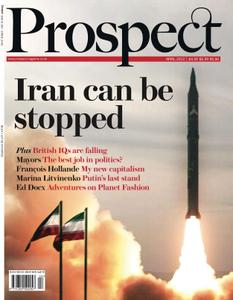 Prospect Magazine - April 2012