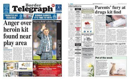 Border Telegraph – November 22, 2017