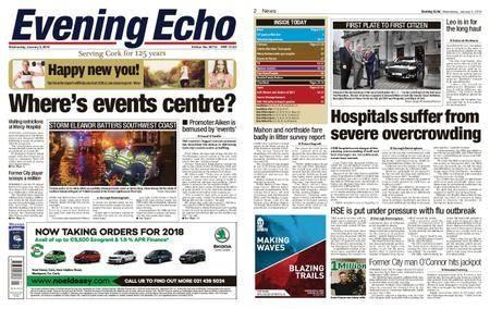 Evening Echo – January 03, 2018