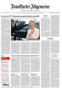 Frankfurter Allgemeine Zeitung F.A.Z. mit Rhein-Main Zeitung - 17. Juli 2019