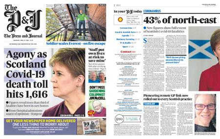 The Press and Journal Moray – April 23, 2020