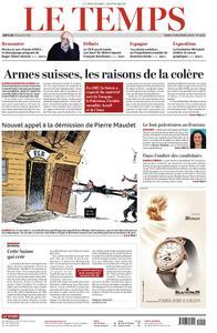 Le Temps - 04 décembre 2018