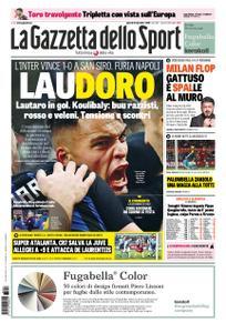 La Gazzetta dello Sport Roma – 27 dicembre 2018