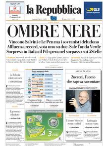 la Repubblica – 27 maggio 2019