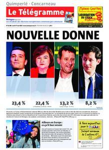 Le Télégramme Concarneau – 27 mai 2019