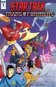 Star Trek vs Transformers 001 2018 digital Knight Ripper