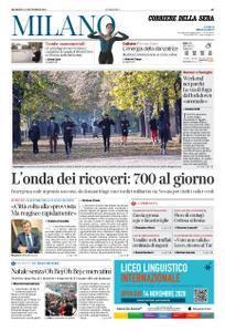 Corriere della Sera Milano – 08 novembre 2020