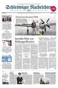 Schleswiger Nachrichten - 25. November 2017