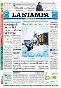 La Stampa Torino Provincia e Canavese - 5 Gennaio 2018
