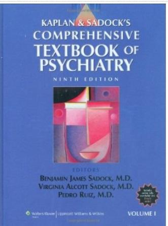 Kaplan and Sadock's Comprehensive Textbook of Psychiatry (9th edition, 2 Volume Set) [Repost]